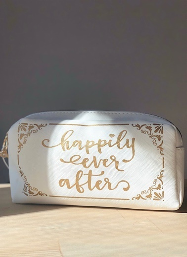 LWP Shop Happly Ever After Makyaj Çantası  Beyaz